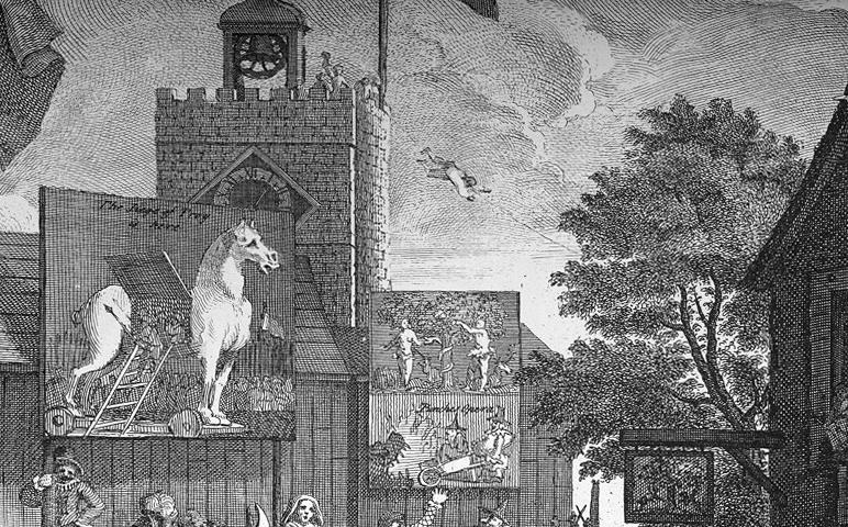 Hogarth-Southwark-Fair-1734
